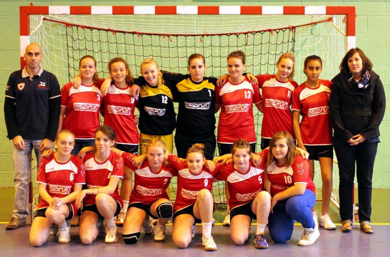 Societe Generale Bolbec à equipe -16 fÉminines