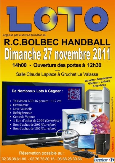 loto du rcb handball. Black Bedroom Furniture Sets. Home Design Ideas