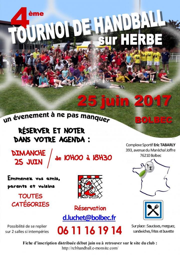 Affiche tournoi sur herbe 06 2017