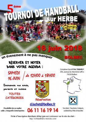 Affiche tournoi sur herbe 06 2019
