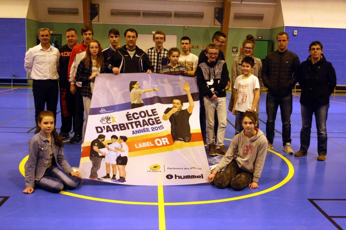 Ecole arbitrage bolbec remise label or
